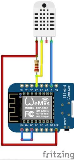 ESP8266 with DHT22 sending MQTT [lazyzero.de]