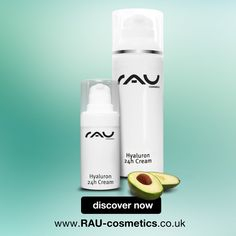RAU Hyaluron 24h Cream: For dry and sensitive skin with hyaluronic acid & Avocado Oil http://www.amazon.co.uk/dp/B006Z7O5TO #skincare #cosmetics #antiaging #avocado #hyaluronic #beauty #health