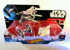 NEW! Star Wars Hot Wheels Diecast 2 Pack- Force Awakens - TIE FIGHTER vs GHOST ! in Toys & Hobbies, Diecast & Toy Vehicles, Cars, Trucks & Vans | eBay