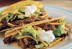 Crockpot Taco Shredded Beef
