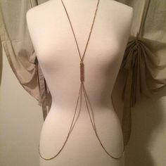 NWOT Body Necklace from Intermix Very trendy body necklace // from Intermix in LA // never worn!! Intermix Jewelry Necklaces