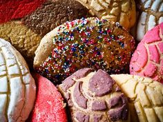 Pan Dulces (Mexican Sweet Bread)... doesn't get any better than that.