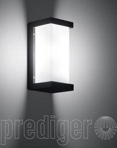 Bega Wandleuchten mit zweiseitig abgeblendetem Kristallglas - LED Warmweiß