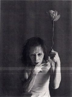 Kazuo Ohno. Butoh master. His son still performs - see him if you can.