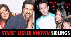 #RakshBandhan Special! Let's have a look at these #bollywood stars' lesser known siblings.