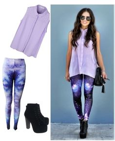 """Galaxy OUTFIT"" by montse-peruce ❤ liked on Polyvore"