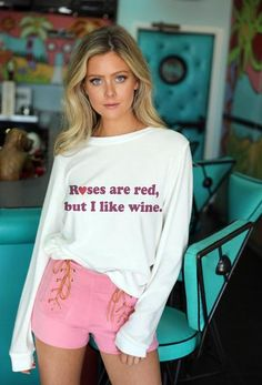 13fc2bab431 Roses are red pullover. Two Toned JeansJudith MarchRed RosesGraphic  Sweatshirt