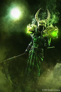 Character: Tier 2 Nemesis Warlock Cosplayer: Monemon Photographer: Christian Gschweng Fotografie