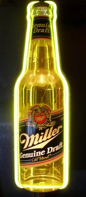Miller Genuine Draft Neon Beer Sign #Naperville