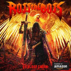 New album by Heavy Metal band - Ross The Boss - By Blood Sworn (Ltd. Heavy Metal, Metal Fan, Black Metal, Judas Priest, Symphony X, Gaming Merch, Thrash Metal, Him Band, Lp Vinyl