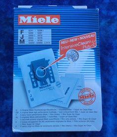 Genuine Miele FJM IntensiveClean Plus Vacuum Cleaner Bags + Filters PKG of 5. C4    eBay
