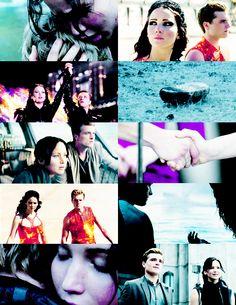 Peeta Mellark + Katniss Everdeen
