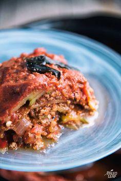 Slow Cooker Beef Zucchini Lasagna