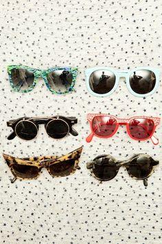 #blue #red #cateye #sunglasses #eyewear