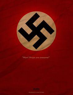 Not God but a swastika (Sylvia Plath)