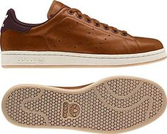 online retailer f2a5a 8572e Brown sneakers - the brown version of Stan Smith looks modern n classy.