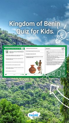 Need help with homework topics? Your child can scan the QR code to find out all about the Kingdom of Benin and then test their learning with a quiz. Follow the link to try this engaging quiz today!