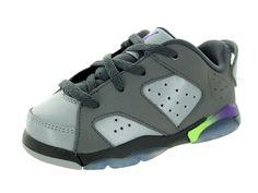 Nike Jordan Toddlers Jordan 6 Retro Low BT Basketball Shoe >>> Don't get left behind, see this great  product : Jordan sneakers and shoes