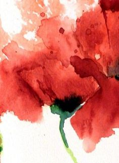 Red Poppies – Original Watercolor Painting Rote Mohnblumen 11 x 15 Original-Aquarell Watercolor Poppies, Red Poppies, Watercolor Paintings, Tattoo Watercolor, Watercolor Portraits, Abstract Watercolor Tutorial, Watercolor Landscape, Abstract Paintings, Painting Art