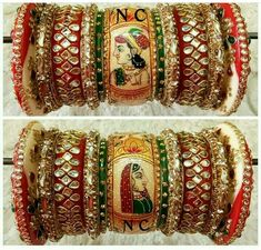 Chuda Bangles, Kundan Bangles, Bridal Bangles, Bridal Jewelry, Indian Wedding Jewelry, Indian Jewelry, Pink Bridal Lehenga, Gujrati Wedding, Wedding Chura