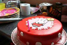 Nijntje taart. Miffy cake