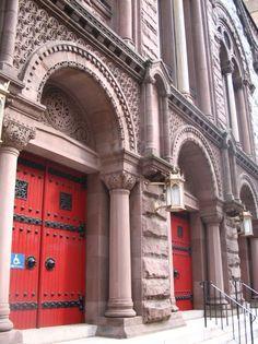 more church doors