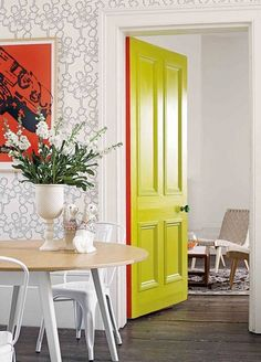 You Need to Try This Unexpectedly Edge-y Way to Add a Pop of Color | Apartment Therapy