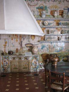Cocina valenciana del Museo Nacional de Artes Decorativas de Madrid
