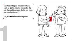 Eine kleine Untersuchung, ein großer Liebesbeweis: Die Vorsorgeuntersuchung erklärt in Wort und Bild auf www.aus-liebe-zur-vorsorge.de
