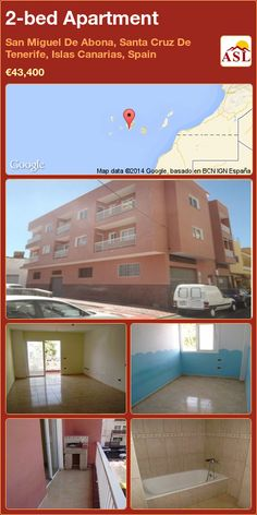 2-bed Apartment in San Miguel De Abona, Santa Cruz De Tenerife, Islas Canarias, Spain ►€43,400 #PropertyForSaleInSpain
