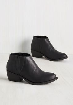 Boots & Booties - The Quest Is Yet to Come Bootie in Black