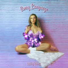 """""""Every Language"""" is the posh and handy """"love and light"""" of emerging Pop princess Riley Wells. Read more on #NovaMusicblog #EveryLanguage #RileyWells #newmusic #artwork #musicblog #engagement Kiana Lede, Teen Numbers, Pitch Perfect, Sabrina Carpenter, Her Music, Love And Light, Wells, Compliments, Language"""