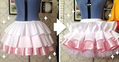 ideas for sewing tutorials costume tutu skirts Lolita Cosplay, Cosplay Diy, Cosplay Outfits, Awesome Cosplay, Costume Tutorial, Cosplay Tutorial, Tutu Costumes, Cosplay Costumes, Sailor Costumes