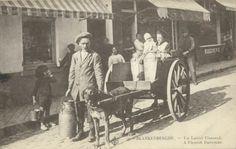 belgium, BLANKENBERGE, Laitiere Flamande, Milk Dog Cart (1922) Stamps