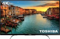 """Toshiba - 50"""" Class (49.5"""" Diag.) - LED - 2160p - with Chromecast Built-in - 4K Ultra HD TV - Front_Zoom"""
