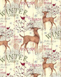 Winter Garden - Dream & Stay Warm - Ivory