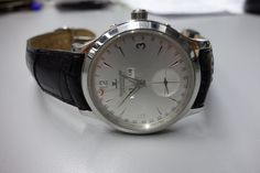 Jaeger Le-Coultre Gents Master Control Triple Calendar Watch Ref. 140.8.87