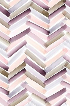 Chevron Stripes Autumn by crystal_walen - Transparent watercolor stripes in muted vintage tones on fabric wallpaper and gift wrap. Mauve peach lavendar olive and pink transparent stripes. Iphone Background Wallpaper, Screen Wallpaper, Fabric Wallpaper, Pattern Wallpaper Iphone, Watercolor Wallpaper Iphone, Painting Wallpaper, Chevron Wallpaper, Trendy Wallpaper, Cute Wallpapers