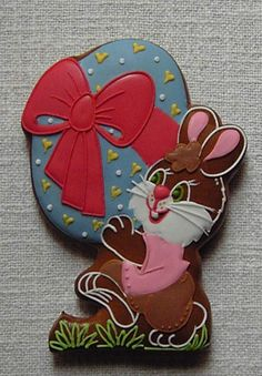 PETER COTTONTAIL~GINGERBREAD EASTER RABBIT COOKIE