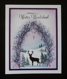 Inkylicious Christmas on Hochanda – Christmas DIY Holiday Cards Stamped Christmas Cards, Christmas Cards To Make, Xmas Cards, Handmade Christmas, Holiday Cards, Christmas Scenes, Merry Christmas, Inkylicious Cards, Cardio Cards