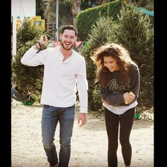 Zendaya  | Takin my Jewish brother Christmas tree shopping #fam @/iamvalc