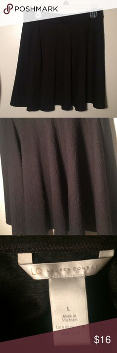 Lauren Conrad skater skirt Great condition, size large, worn once LC Lauren Conrad Skirts