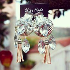 #clipsmade #earrings #handmadeearrings #handmadejewerly #butikluxurymostar #staritrznicentar