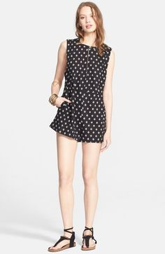 Women's Free People 'Ashley' Print Romper