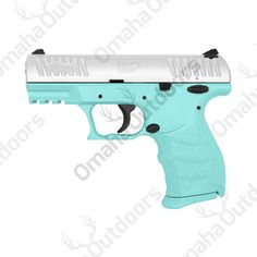 Walther CCP Tiffany Blue 9mm 8 RDS 3.54″ Handgun - Omaha Outdoors
