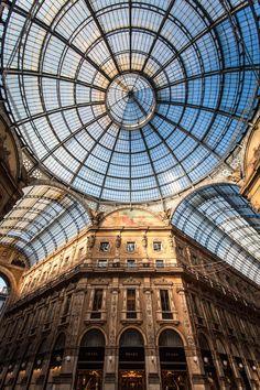 "breathtakingdestinations: "" Galleria Vittorio Emanuele II - Milan - Italy (by Roberto Taddeo) """
