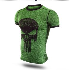 Compression Shirt Raglan Sleeve 3D Printed T-shirts Men 2016 Summer Fitness Male Quick Dry Bodybuilding Crossfit Tops 2017