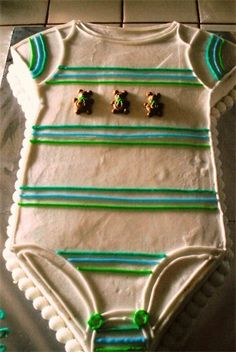 Three Forks Cakes - Baby Shower Cakes