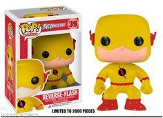 Dallas Comic Con has just announced their first exclusive; a Funko Pop! Reverse Flash figurine