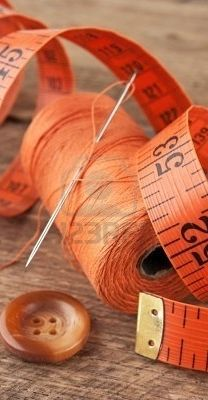 orange thread and measure